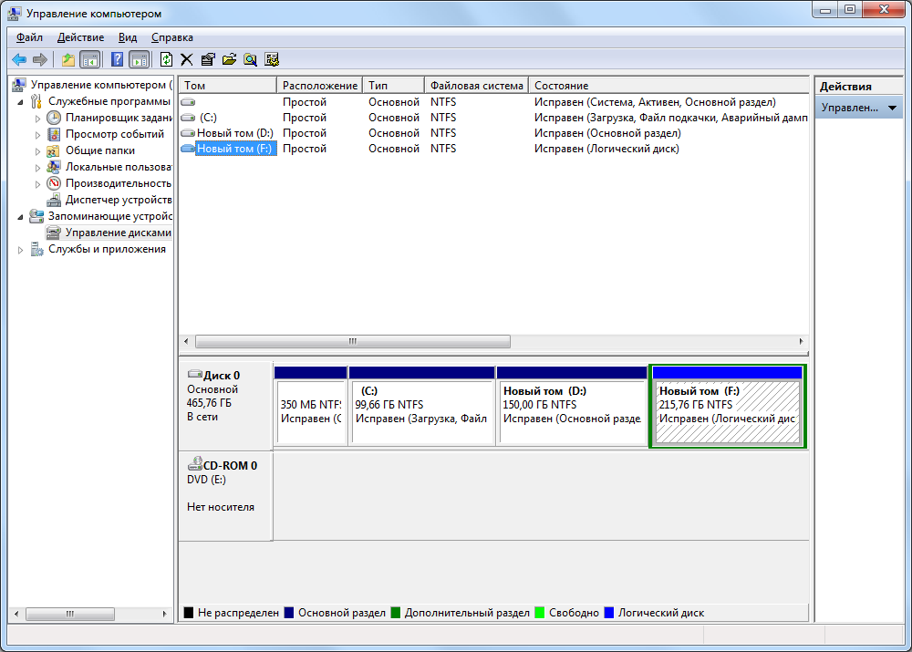 Управление разделами дисков windows 7 скачать программу