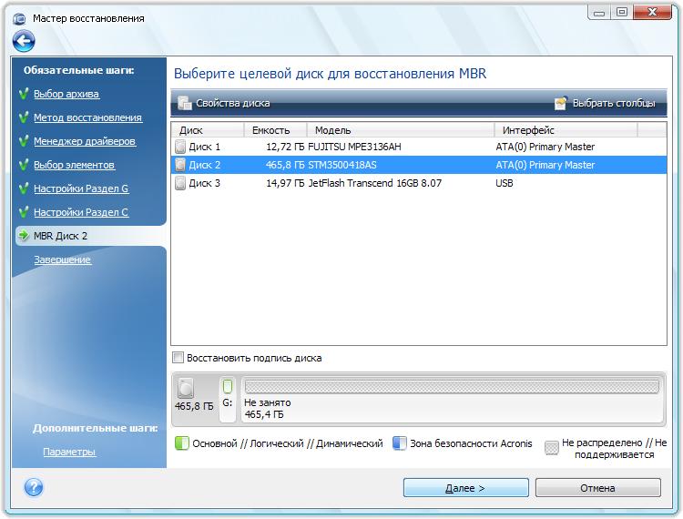 Перенос Windows 7 с помощью Acronis True Image 2014 Premium на новый жёсткий диск или другой компьютер. http://shparg.narod.ru/index/0-23